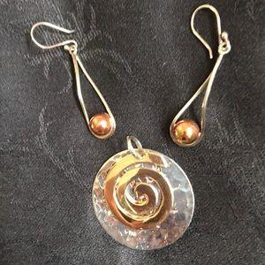 Jewelry - Sterling/Copper Earrings/Charm